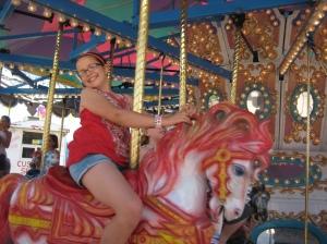 jess on horse